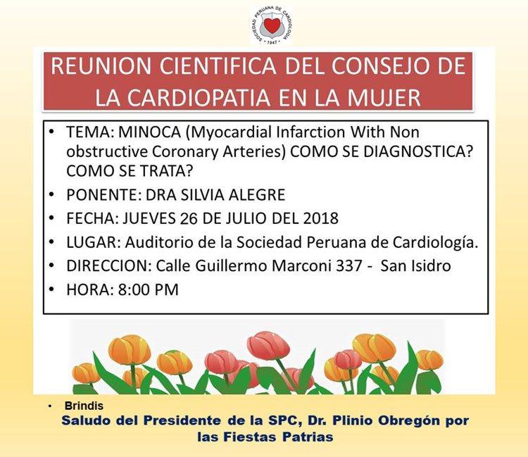 Reunión Científica del Consejo de la Cardiopatía en la mujer