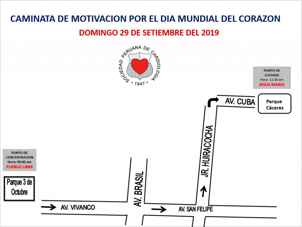 Caminata por el Día Mundial del Corazón