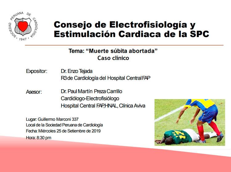 Consejo de Electrofisiología y estimulación Cardiaca de la SPC