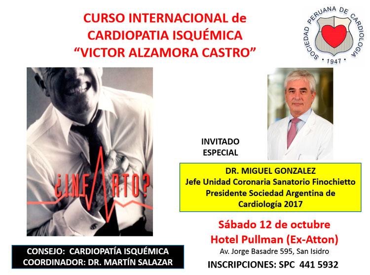 Curso Internacional de Cardiopatía Isquémica «Victor Alzamora Castro»