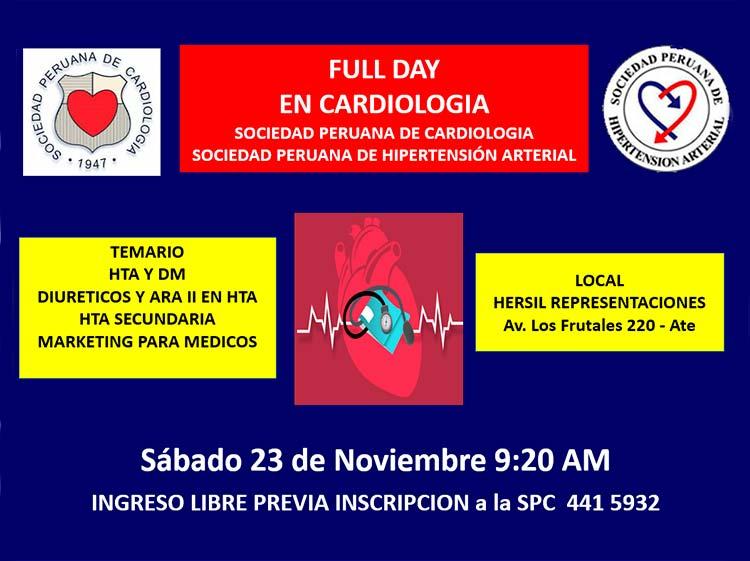 Full Day en Cardiología