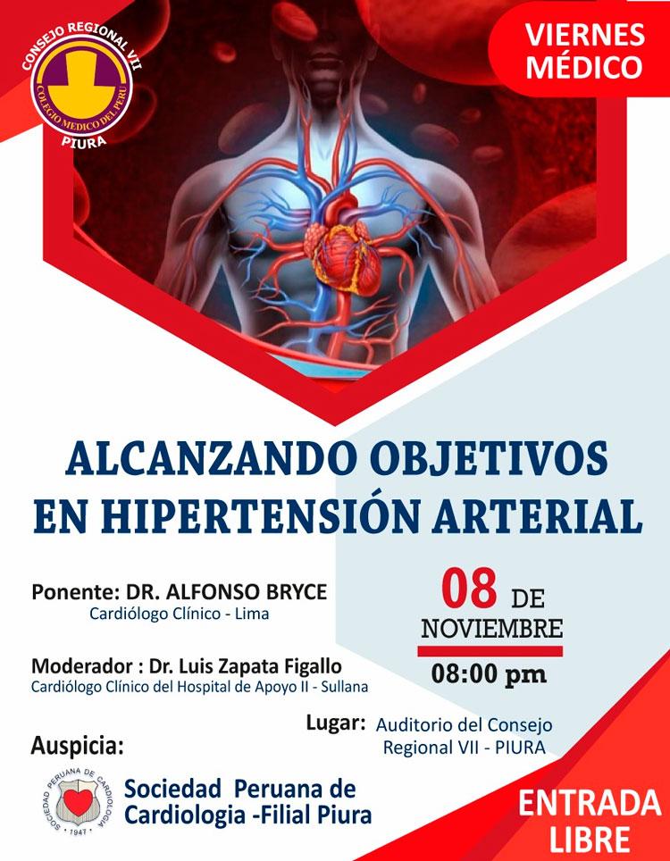 Alcanzando objetivos en hipertensión arterial