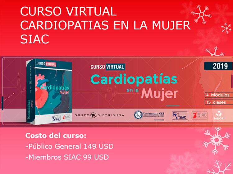 Curso Virtual Cardiopatías en la Mujer SIAC