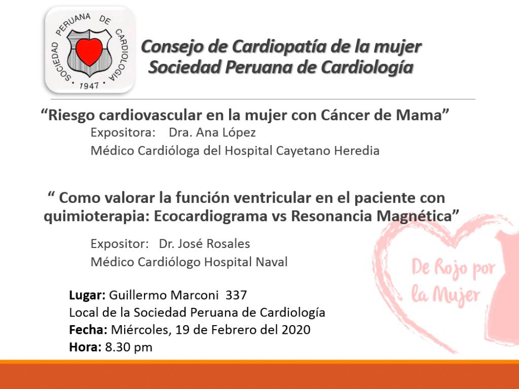 Consejo de Cardiopatía de la mujer – Febrero