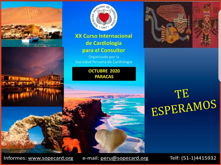 XX Curso Internacional de Cardiología para el Consultor