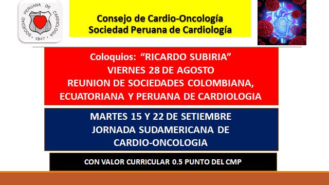 Consejo de Cardio-Oncología 2020