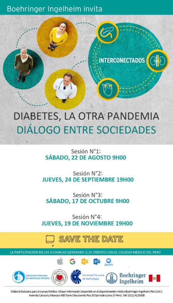 Diabetes, la otra pandemia – Dialogo entre sociedades