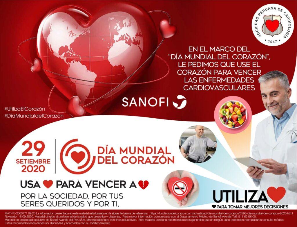Recomendaciones de SANOFI por el Día mundial del corazón