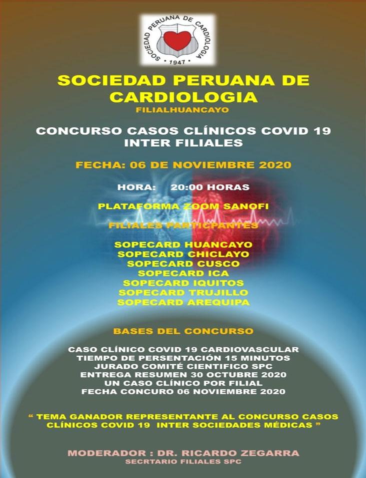 Concurso Casos clínicos COVID 19 Inter Filiales