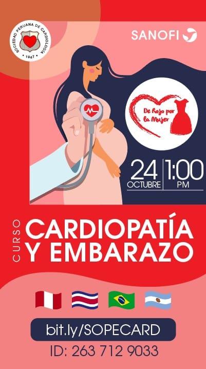 Curso Cardiopatía y embarazo 2020